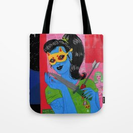A Prophecy of Glory Pierced Through Tote Bag