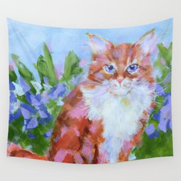 Tiger Lily Wall Tapestry