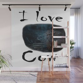 I love Cow Wall Mural