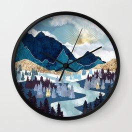 Valley Sunrise Wall Clock