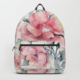 Autumn Peonies Backpack