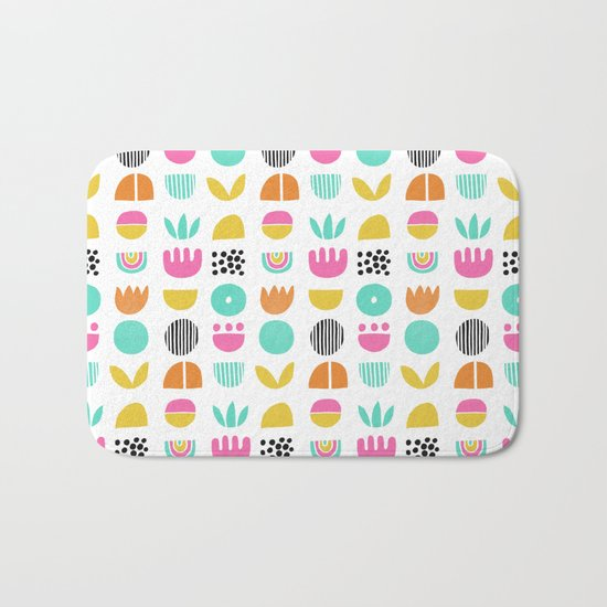 SIMPLE GEOMETRIC 001 Bath Mat