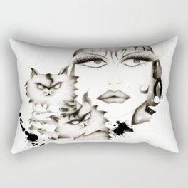 Glamour woman! Rectangular Pillow