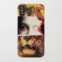 Lady Lion iPhone Case