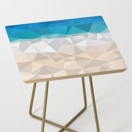 Low poly beach Side Table