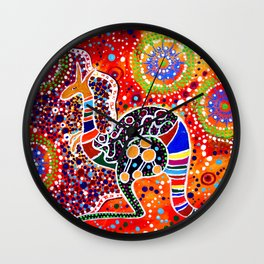 BORA THE KANGAROO 3 Wall Clock
