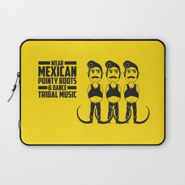 Hector loves tribal music.  Laptop Sleeve