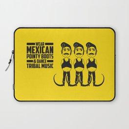 Hector loves tribal music.  Laptop Sleeve