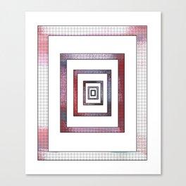 Infinite Rectangle Canvas Print