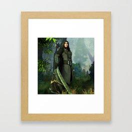Haldir Framed Art Print
