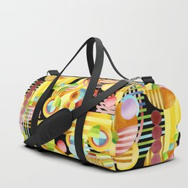 Art Deco Maximalist Duffle Bag