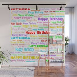 Happy Birthday! 1 Wall Mural