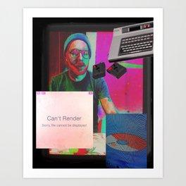 COLOR DREΔM Art Print