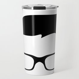 Basic Hipster Travel Mug