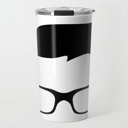 Basic Hipster Travel Mug