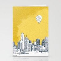 dallas Stationery Cards featuring Dallas by Bas van Genugten
