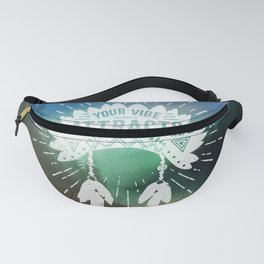 Your Vibe Attracts Your Tribe - Magical Road Trip Fanny Pack