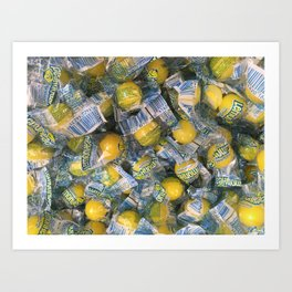 Candies 1 Art Print