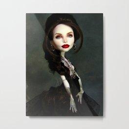 Monster Angelina Doll Metal Print