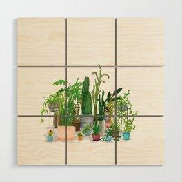 Plant Family Portrait Wood Wall Art