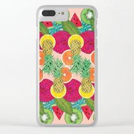 Fruta Clear iPhone Case