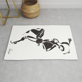 Flamenco Dancer Rug