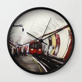 London Underground Wood Green Wall Clock