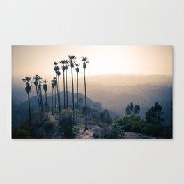 Hollywood Via Griffith Park I Canvas Print