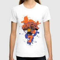 nba T-shirts featuring NBA Stars: Carmelo Anthony by Akyanyme