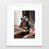 peru Framed Art Prints featuring Peru by Catherine Heft