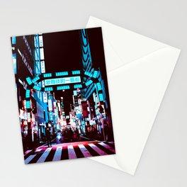 Japan - 'Blue kabukicho' Stationery Cards