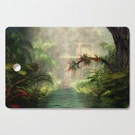 Lost City in the jungle Cutting Board
