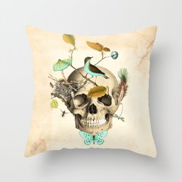 Returned to the earth Throw Pillow