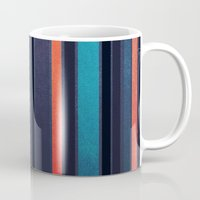 skyline Mugs featuring Skyline by Liall Linz