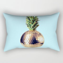 Ananas party (pineapple) blue version Rectangular Pillow