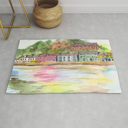 Portree, Scotland Rug