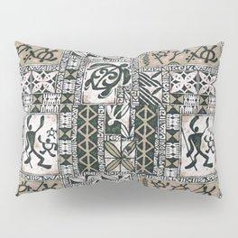 Hawaiian Honu Tapa Cloth Pillow Sham