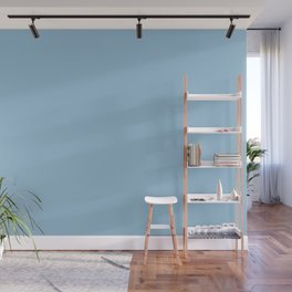 Dunn & Edwards 2019 Trending Colors January Frost (Pastel Blue / Baby Blue) DE5849 Solid Color Wall Mural
