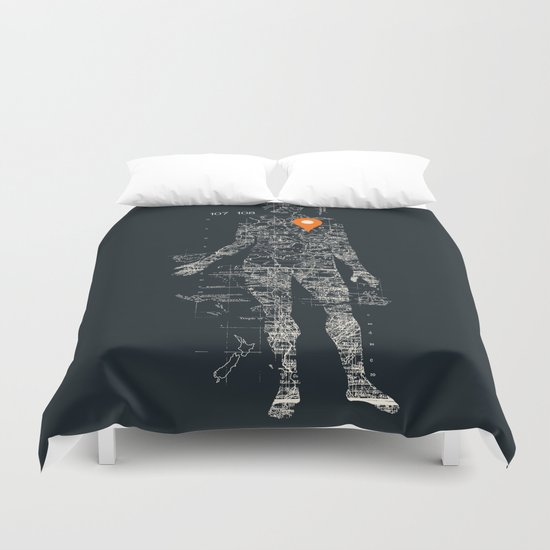 Travel With Me Duvet Cover