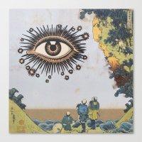 third eye Canvas Prints featuring Third Eye  by CUTS