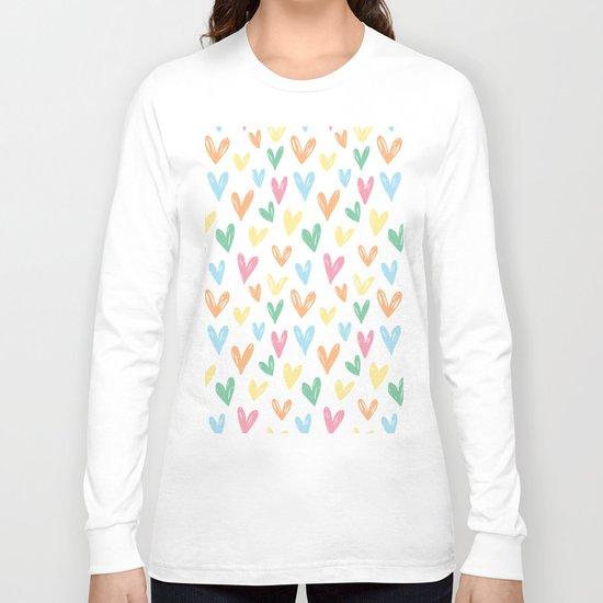 Party hearts ! Long Sleeve T-shirt