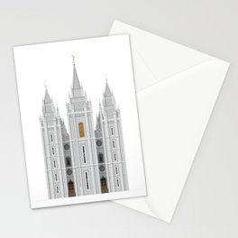 Salt Lake Temple Stationery Cards