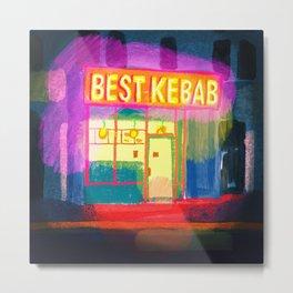 Kebab Metal Print