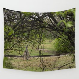 Roo through the Trees Wall Tapestry