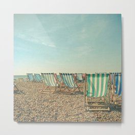A Sea View Metal Print