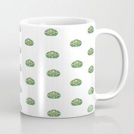 Green Easter Eggs Wall Art Decor Coffee Mug