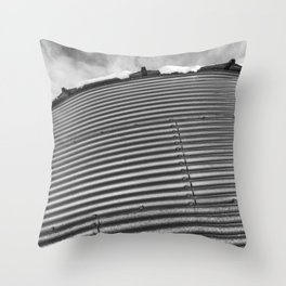 Grain Bin 3 Throw Pillow