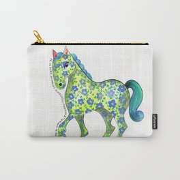 Caballo Serie amimales domésticos colombianos Carry-All Pouch