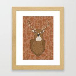 Regal Stag Framed Art Print