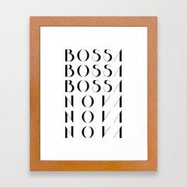 Bossa Nova 1 Framed Art Print